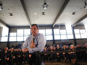 Governor Chris Christie listens to a question during his 114th Town Hall on Hurricane Sandy Recovery and Rebuilding in South River, N.J. on Tuesday, March 18, 2014. (Photo: Governor's Office/Tim Larsen)