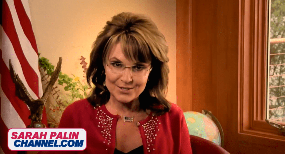 Time to Subscribe to the Sarah Palin Channel
