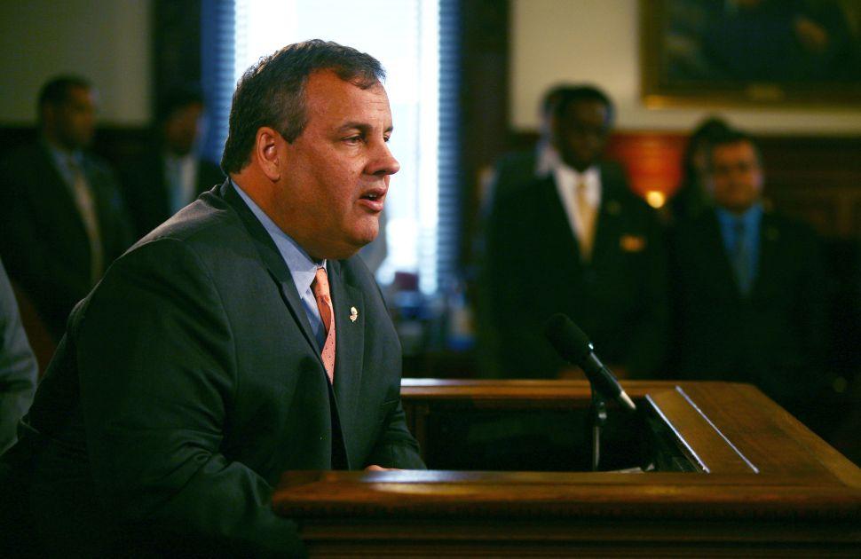 Christie mum on GOP prospects in Senate primary