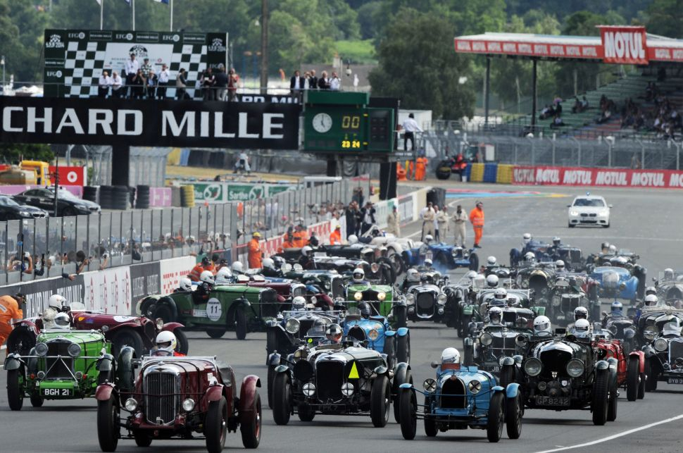 Flaming Wades on Wheels: Kenny Schachter at the Le Mans Classic