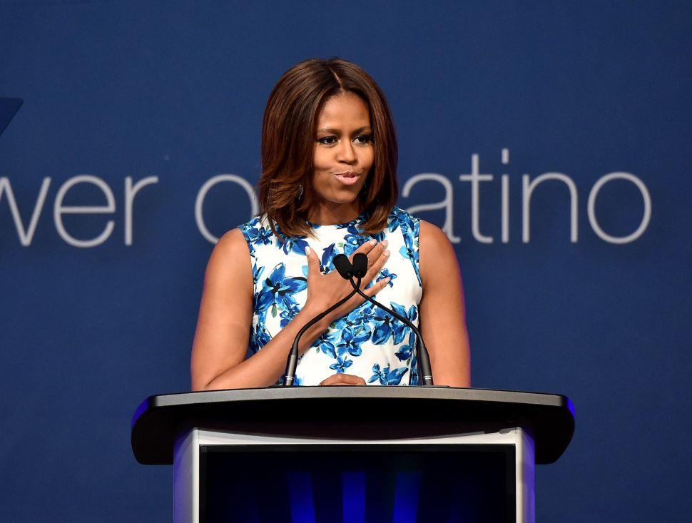 Michelle Obama Talks Immigration and Education at Latino Summit