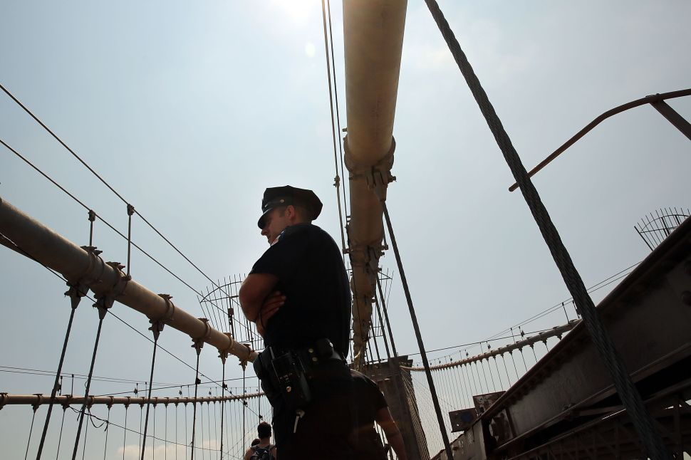 NYPD: Brooklyn Bridge Flags Appear to Be Stars and Stripes Bleached White