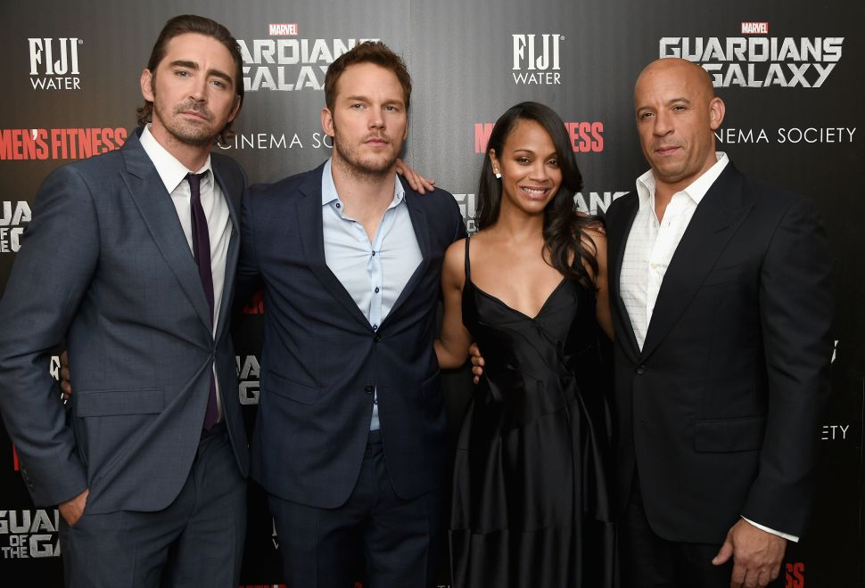 'Guardians of the Galaxy' Cast Comes Back to Earth for Advance Screening