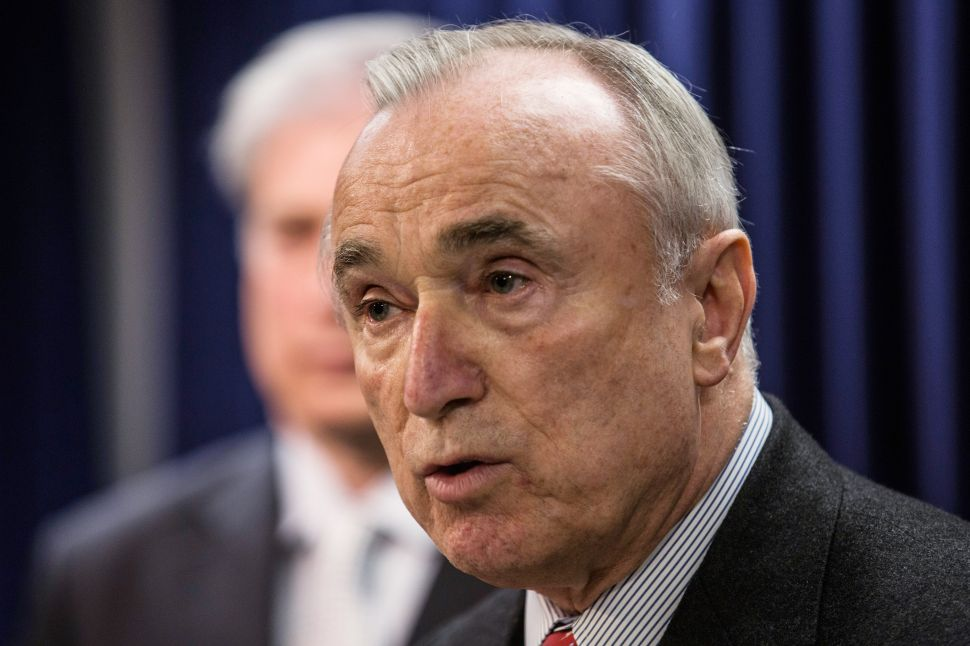 After Turning Down 1,000 Cops, Bratton Plans to Ask for Even More