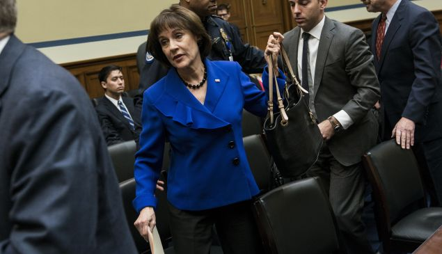 Lois Lerner, the IRS head whose Blackberry was destroyed along with her hard drives. (BRENDAN SMIALOWSKI/AFP/Getty Images)