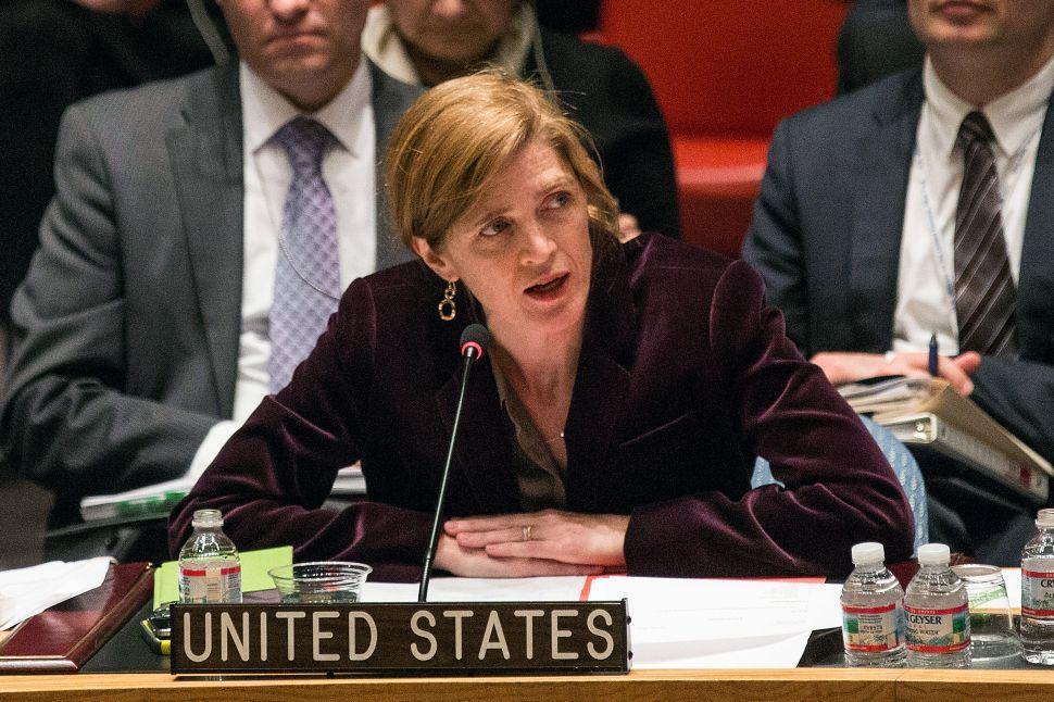 Who runs the Security Council? Women!