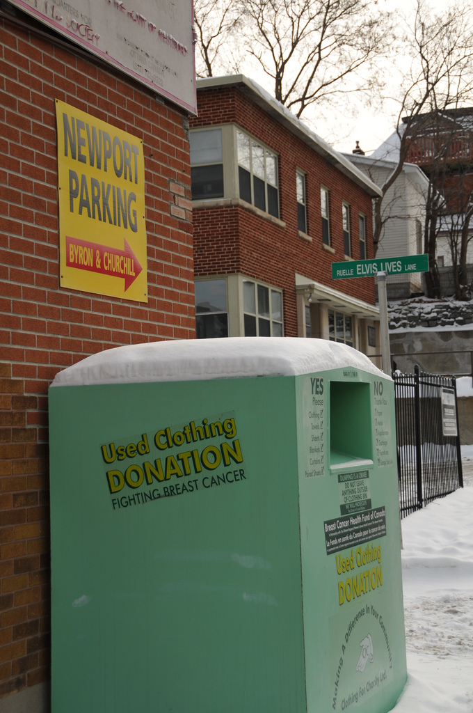 New Yorkers Donate Used Clothing, Illegal Clothing Recycling Bin Owners Profit