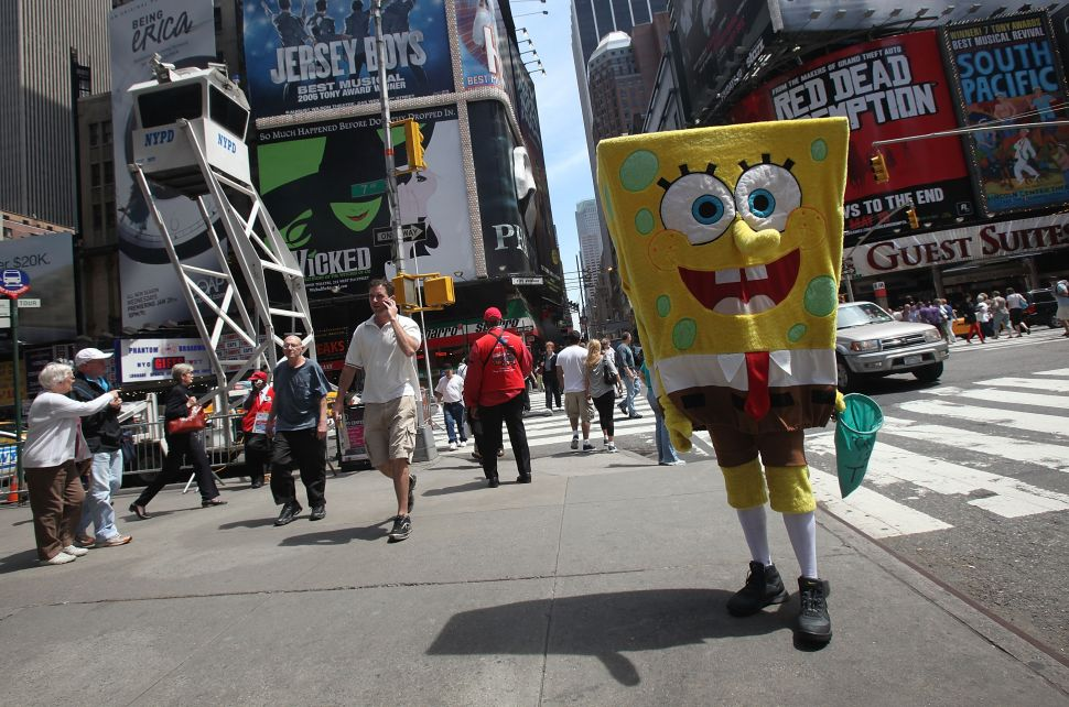 Times Square Alliance (and the Naked Cowboy) Call for New Regulation in Plaza