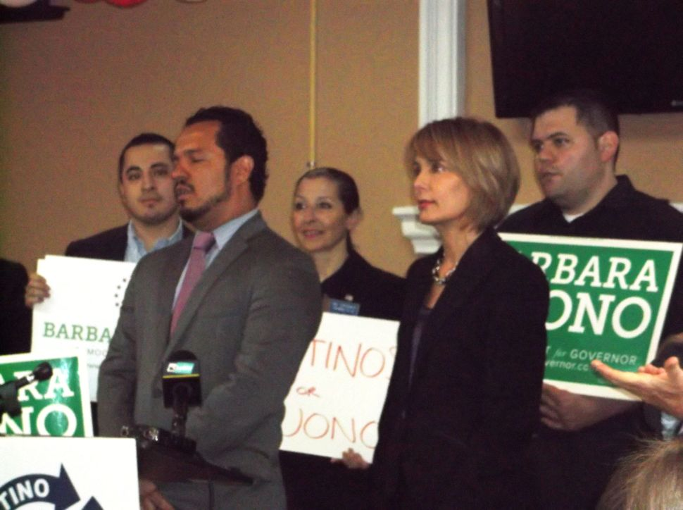 Buono on campaigns' cash disparity: 'soon you won't be asking that question'