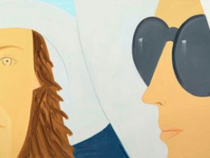 Katherine and Elizabeth by Alex Katz (Courtesy the Whitney Museum of American Art).
