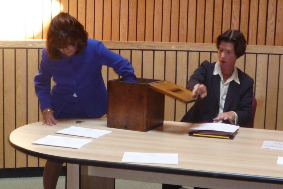 Clerk draws ballot positions in Passaic