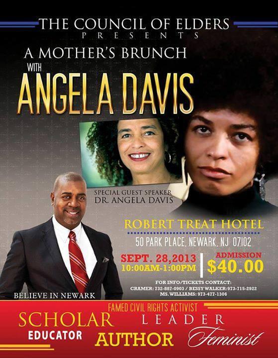 Newark mayoral candidate Baraka to appear with Council of Elders invitee Angela Davis