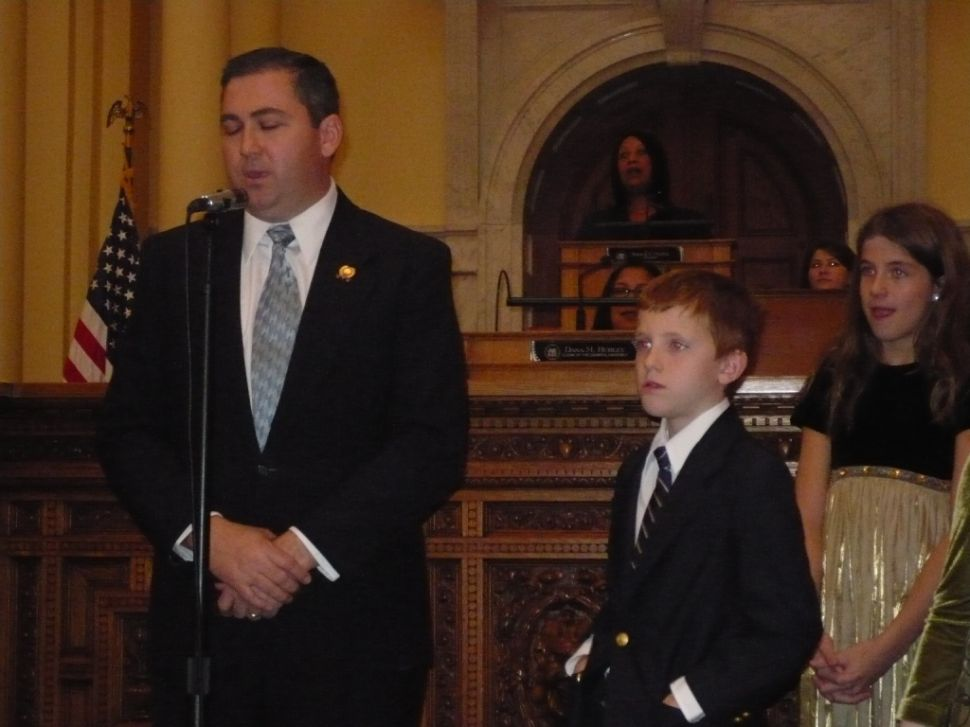 Delany sworn in to replace Addiego