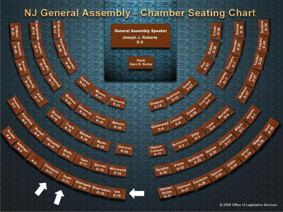 Three indicted Assemblymen will keep their seats, literally