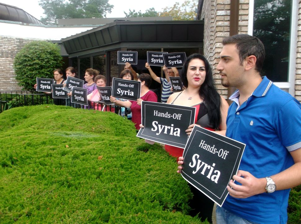 Members of local Syrian Christian community speak out against U.S. air strikes