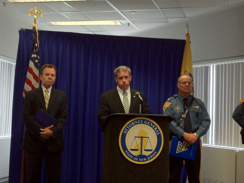 AG announces trooper charges; says license plates were covered over