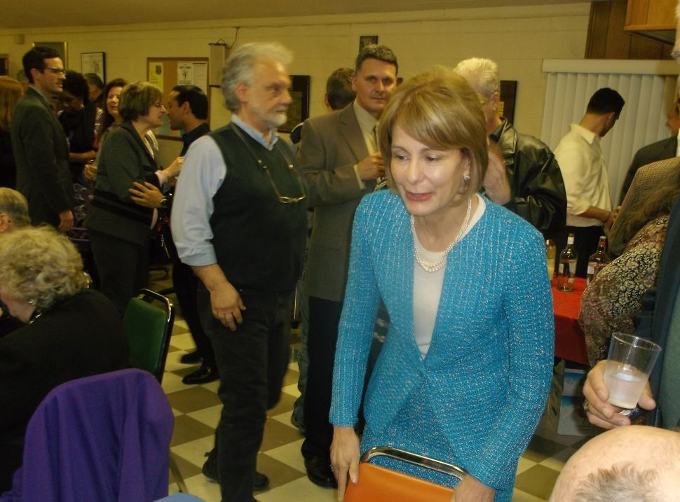 Buono weighs in on Christie's Paterson town hall