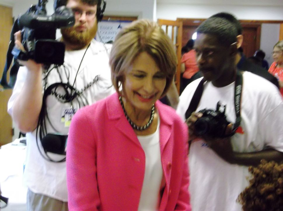 Buono targets women voters in Irvington
