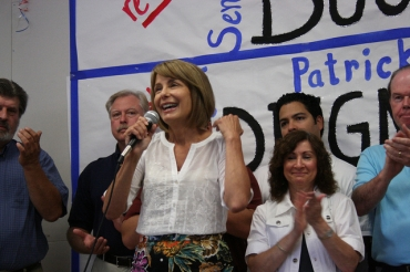 As Dem insiders talk 2013 statewide, Buono and Codey continually cross paths in Bergen