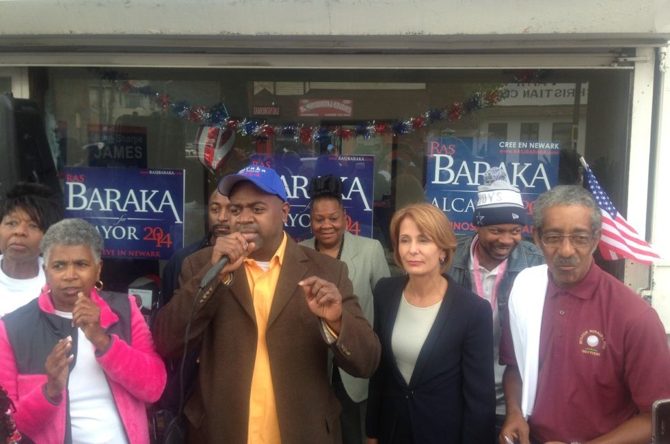 Baraka and Buono join forces in Newark's West Ward