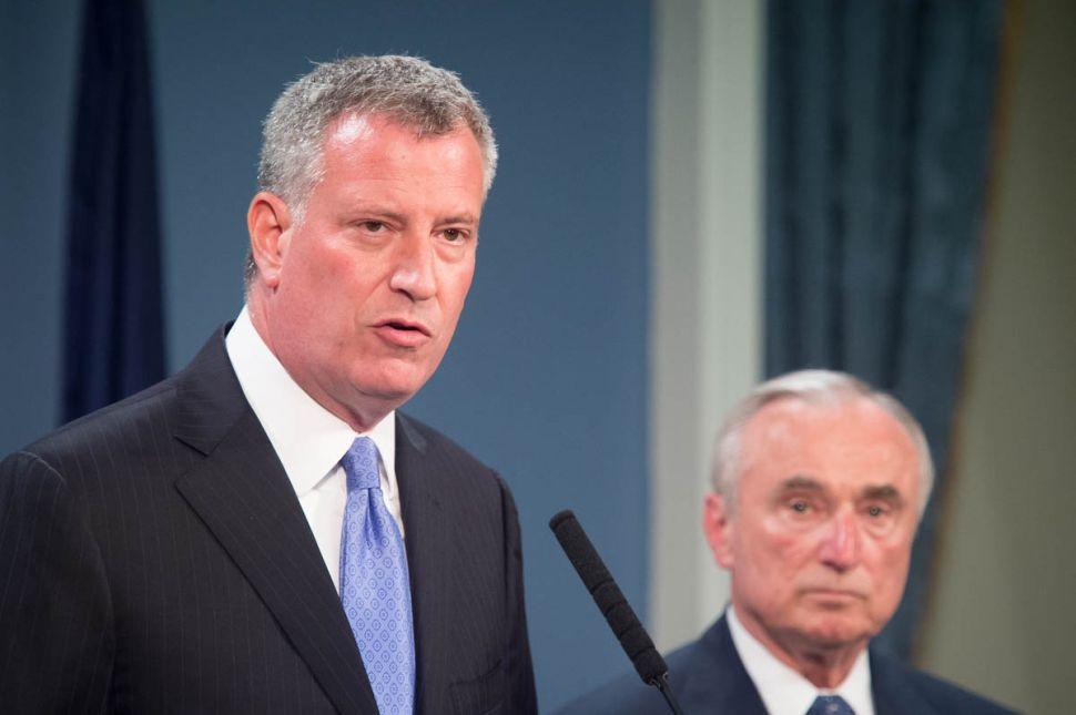 Mayor Bill de Blasio Asks for Federal Anti-Terror Funding (Again)