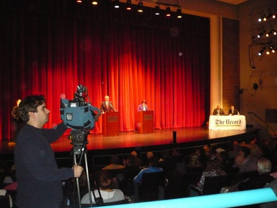 Bergen exec candidates duke at blockbuster Record debate