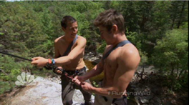 'Running Wild': Bear Grylls Finds Great Delight in Trying to Kill Zac Efron