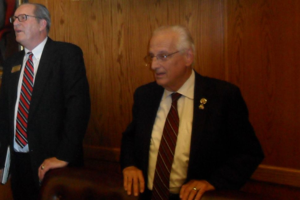 Pascrell to Straten: 'go out and dig up the roads'