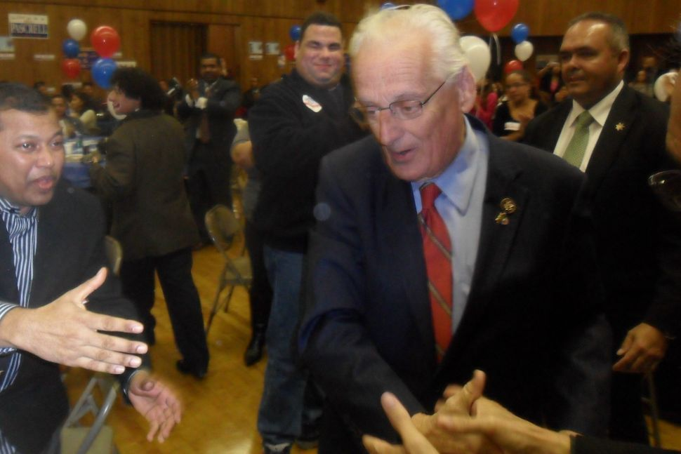 Pascrell says he was talking about Blue Dog feds – not Joe D.
