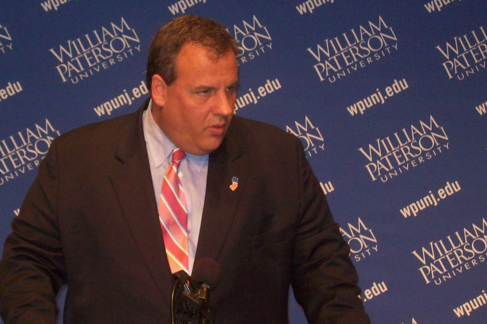 Christie: Obama can't sit in the governor's chair