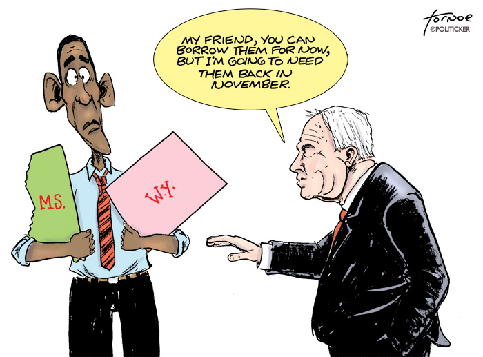 McCain's loan to Obama