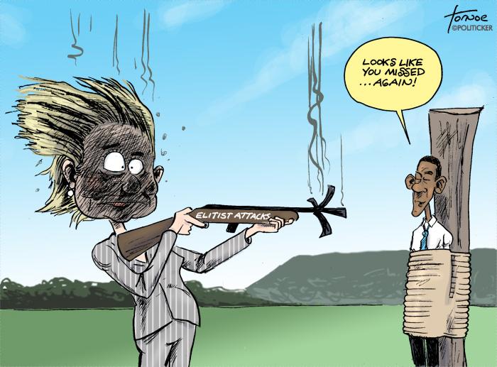 Annie Oakley's gun backfires