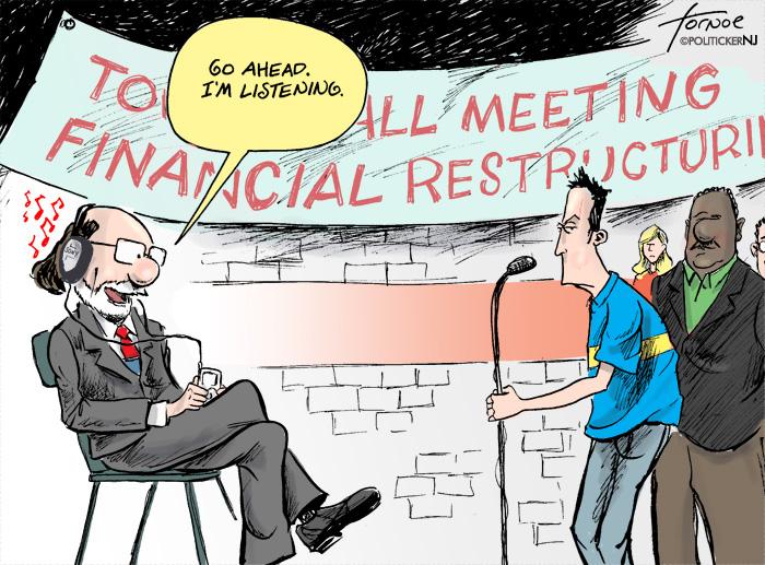 Jon Corzine's Town Hall Meetings