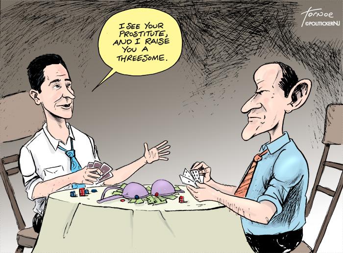 McGreevey one-ups Spitzer