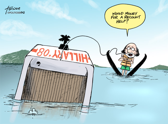 Corzine to the rescue