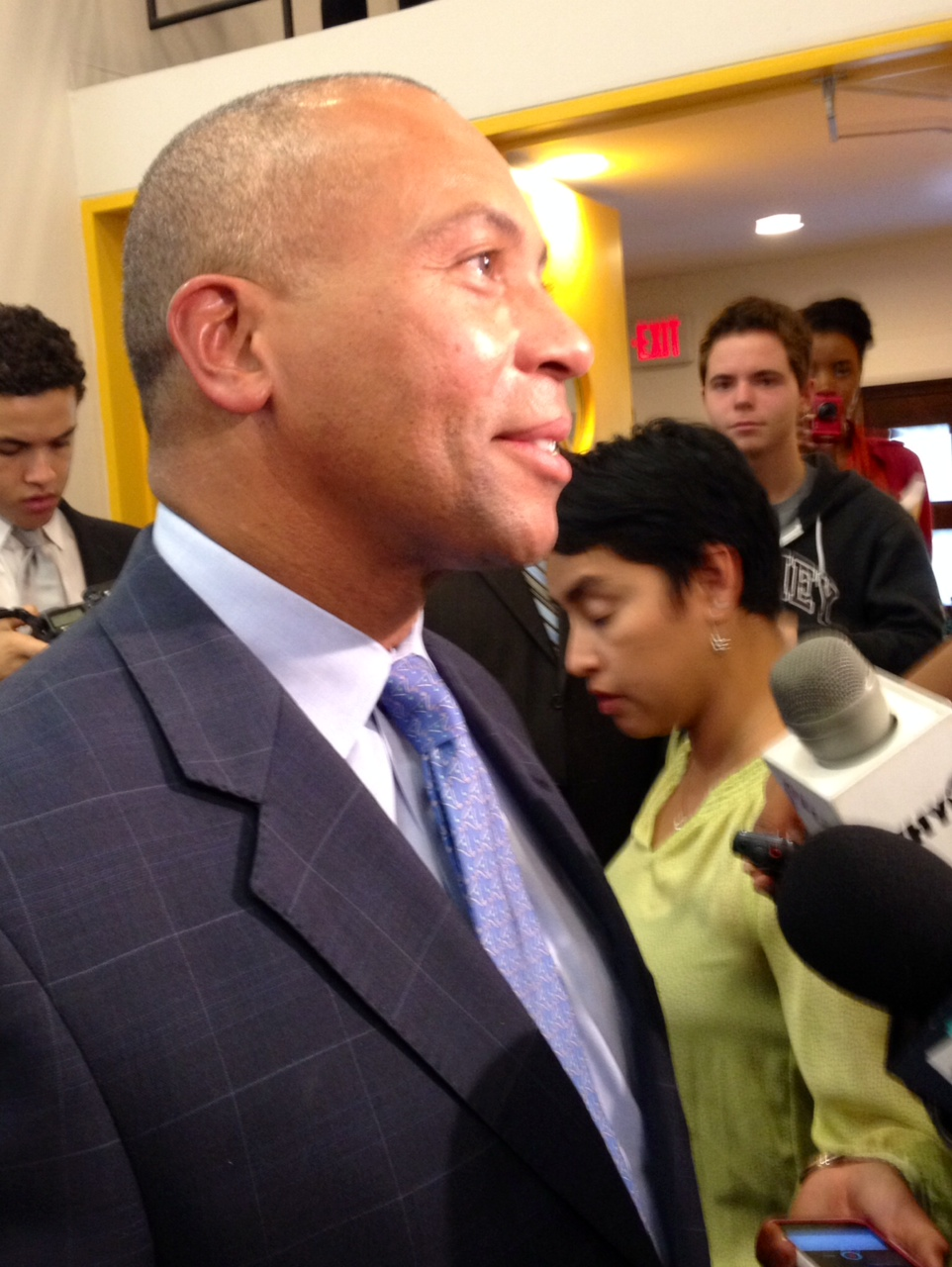 Mass. Gov. Patrick: Booker 'statesperson first and a partisan second'