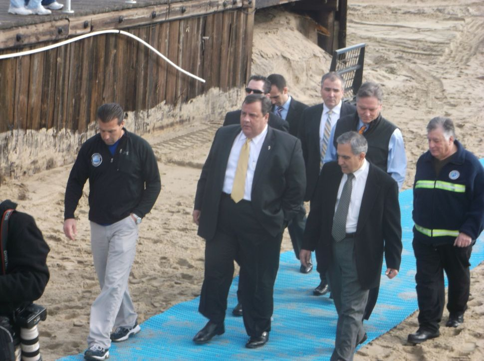 Christie: 'If they changed disaster relief rules, they picked wrong state to change them with'