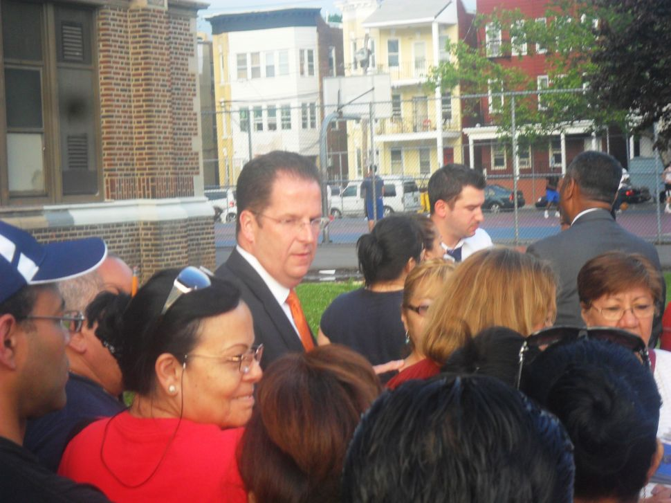 Stack arrives in Passaic with Pascrell Team reinforcements