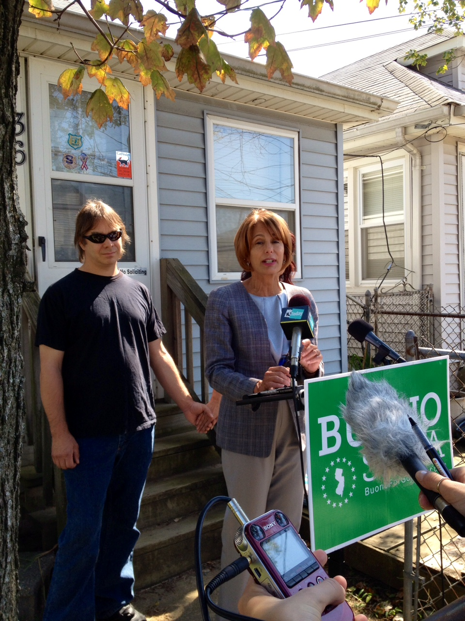 Buono highlights Sandy victims she says administration has left stranded