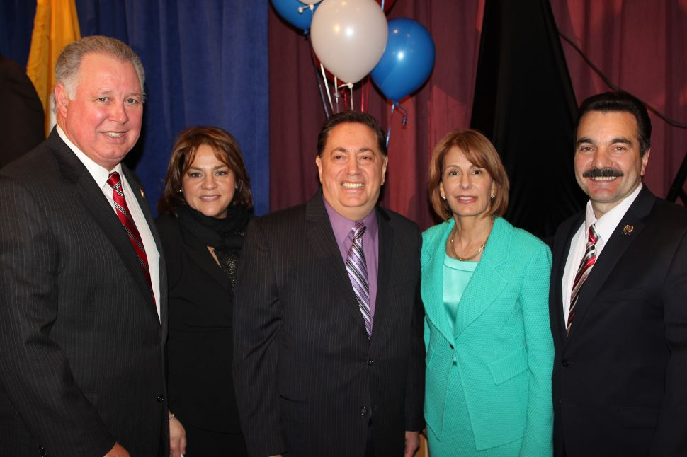 Sacco and team kick off re-election campaign with Buono at their side