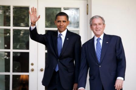 FDU poll: Bush and Obama's outgoing and incoming NJ voter approval ratings