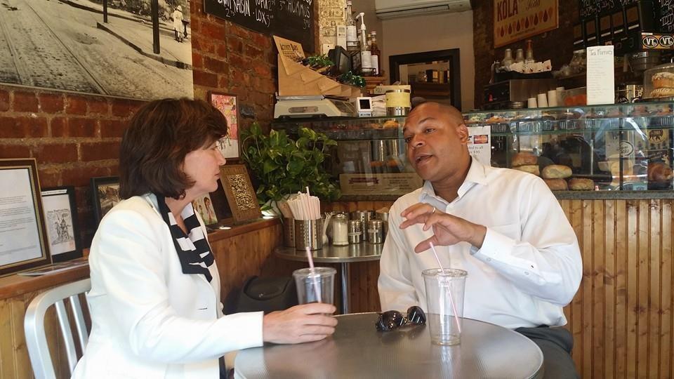Karim Camara Says He's 'Comfortable' With Kathy Hochul on Guns and Immigration