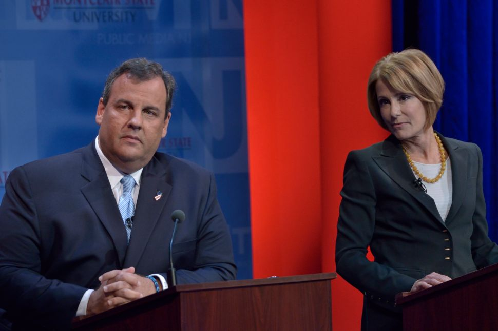 Christie doesn't take presidential race announcement bait
