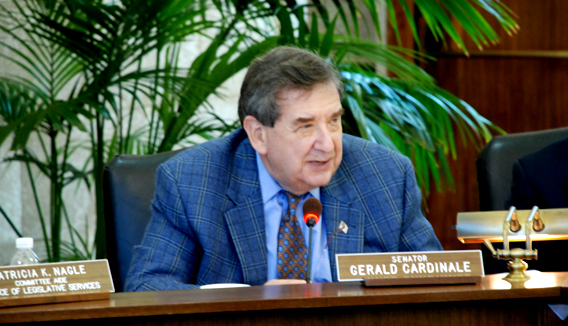Cardinale and Vitale battle over sex abuse bill
