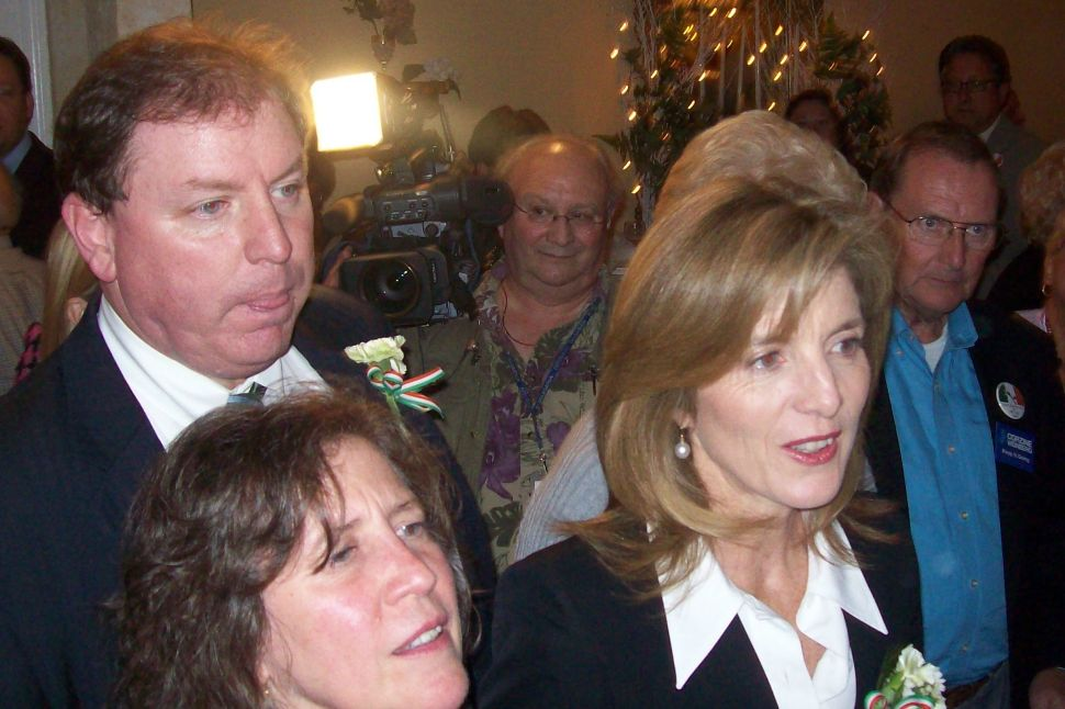 Caroline Kennedy stumps for Corzine in Belmar