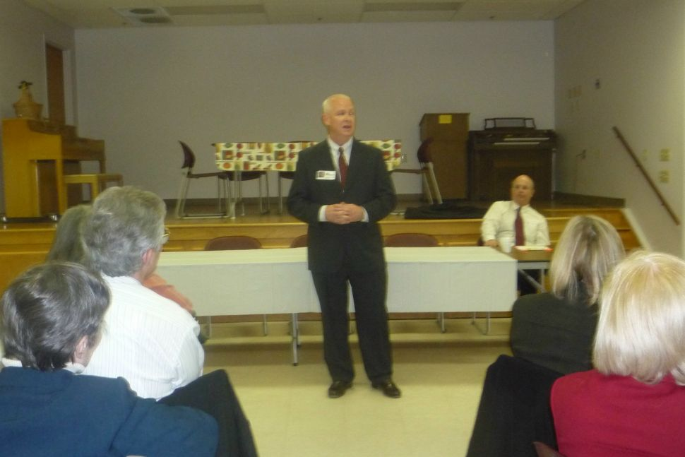 And then there were three: Somerset candidates campaign in North Plainfield