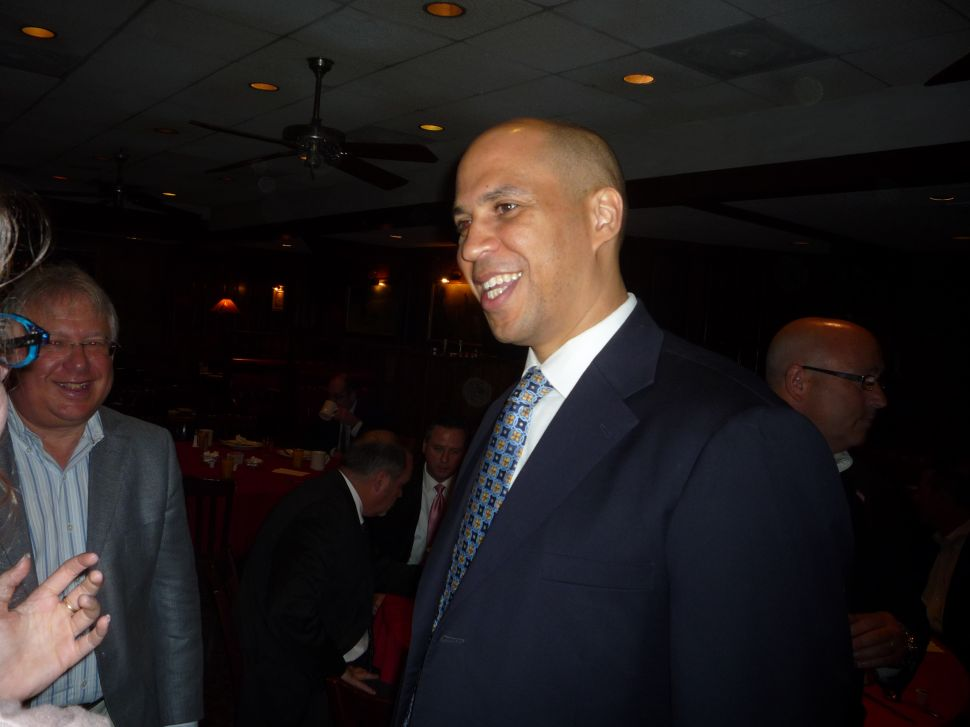 Booker: 'I will explore' possibility of running for the U.S. Senate in 2014