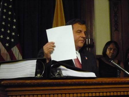 DOE $$$ lost over one sheet of paper; Christie: call Arne Duncan