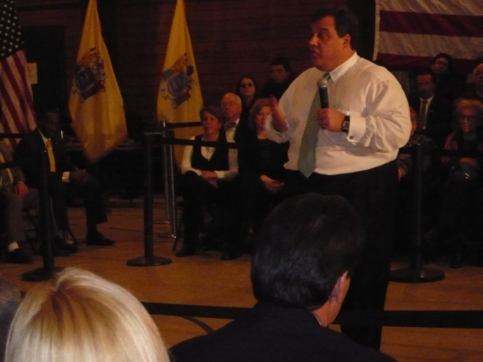 Christie on budget 'deal' with Democrats: The clock's ticking, again