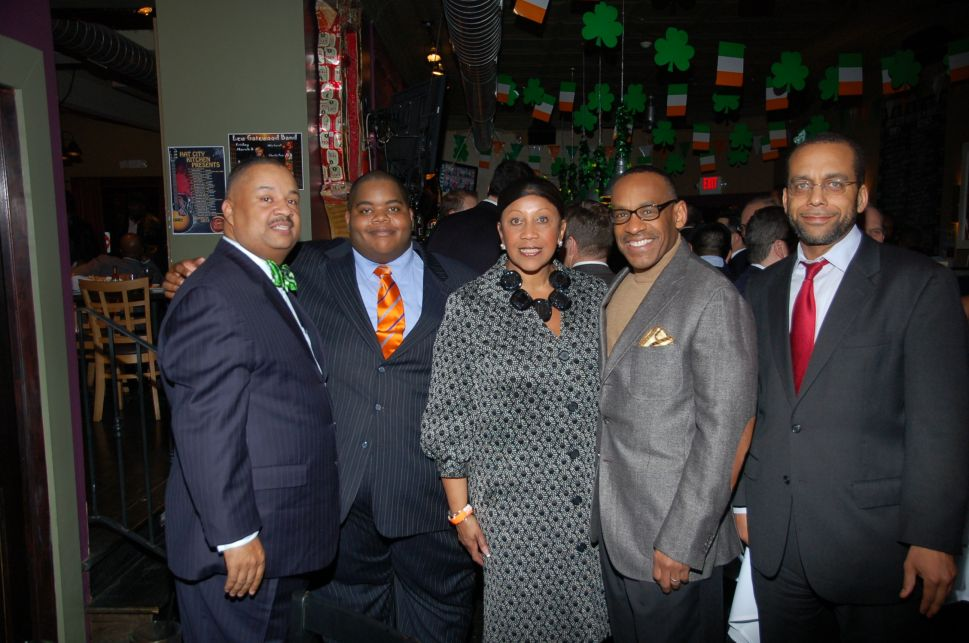 At East Orange council candidacy kickoff, James flexes statewide muscle